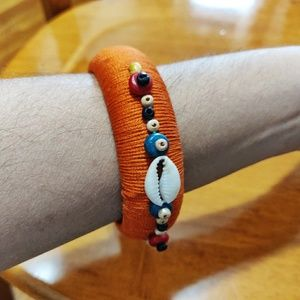 Colorful thread wrap bangles / bracelet